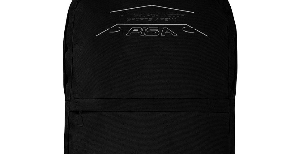 PISA Blackout Logo Backpack