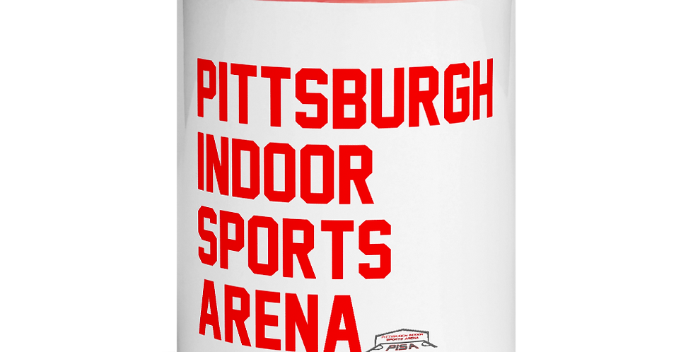 Pittsburgh Indoor Sports Arena Text Mug