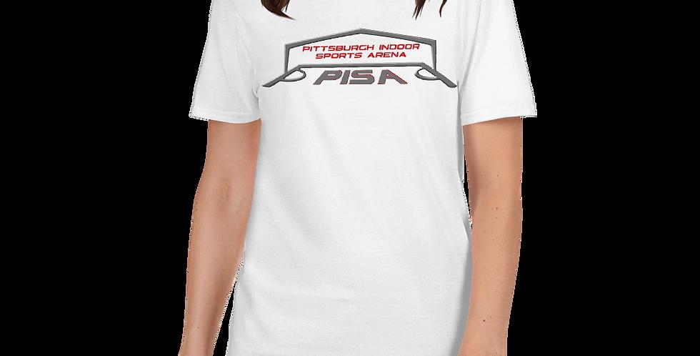 Women's PISA Logo 2020 Basic Short-Sleeve Tee Shirt