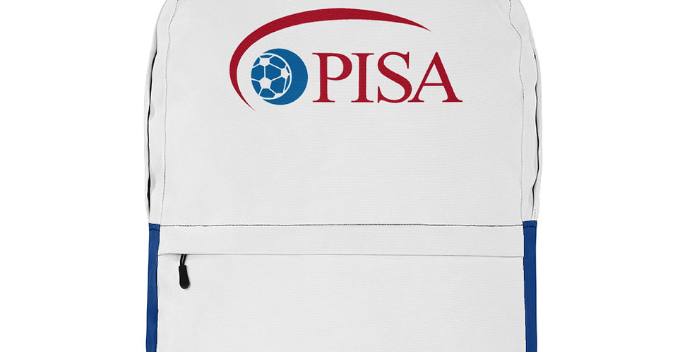 PISA Vintage Logo Backpack (Blue Bottom)