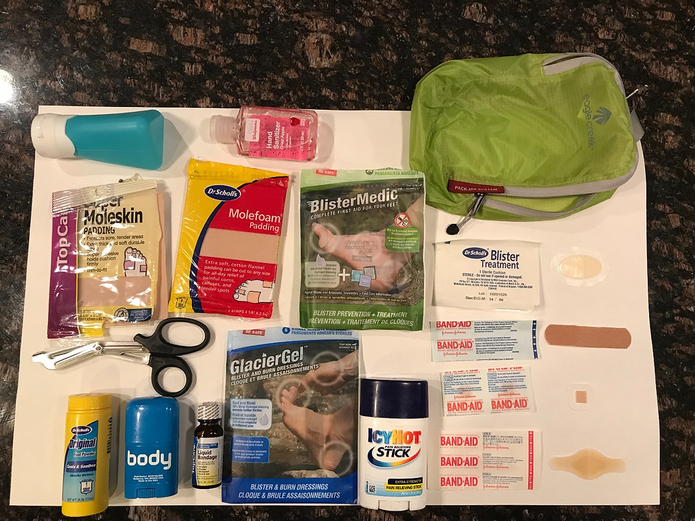 Footcare Kit Examples