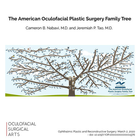 The American Oculofacial Plastic Surgery Family Tree