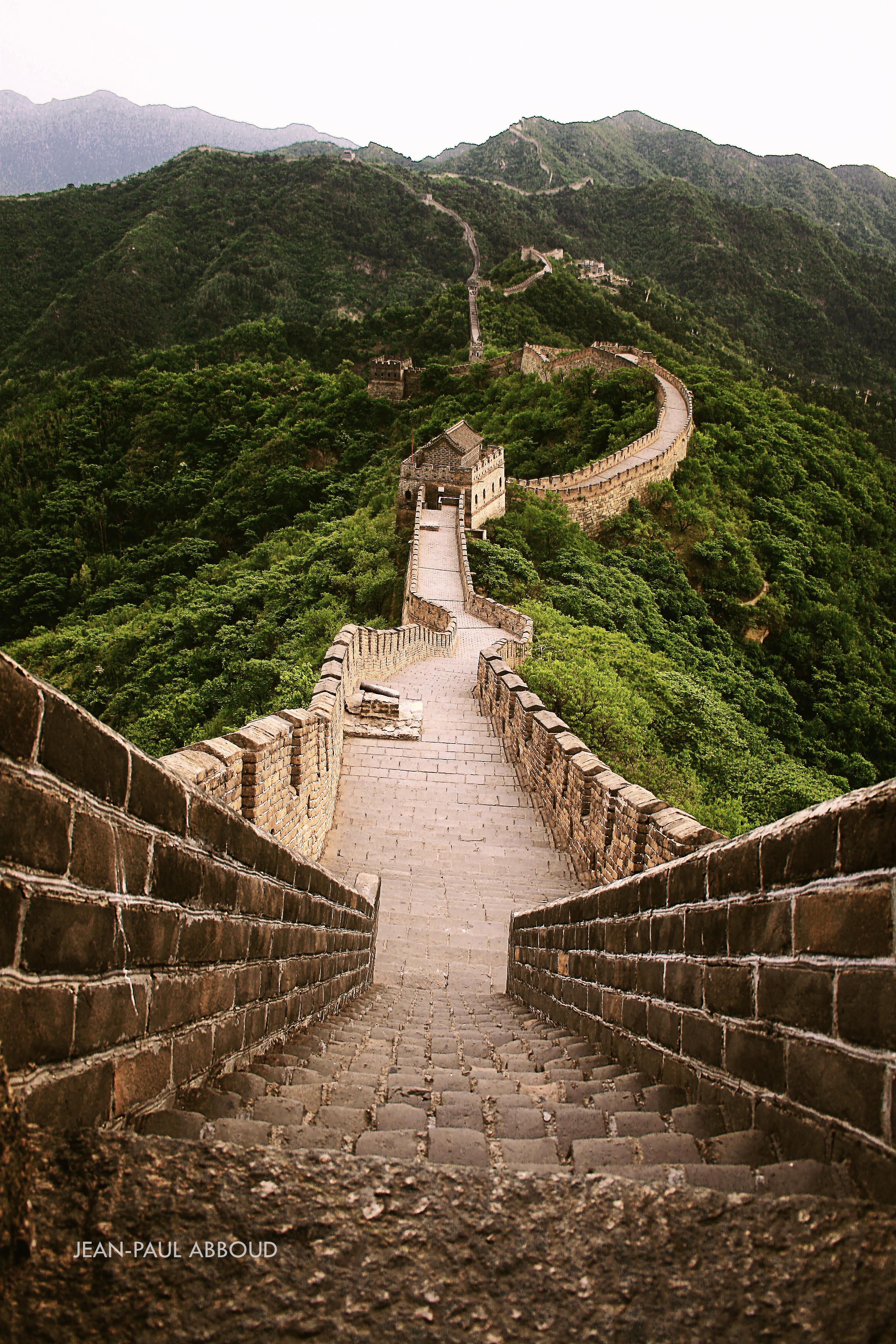Great Wall at Mutianyu - China