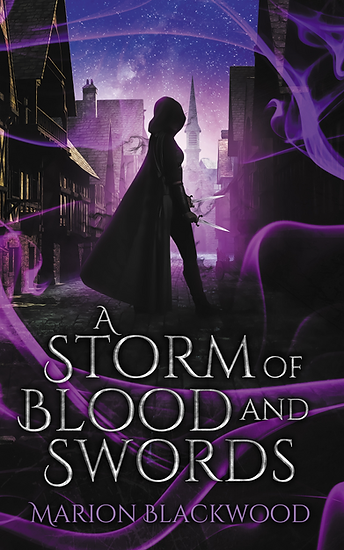 Fantasy novel A Storm of Blood and Sword