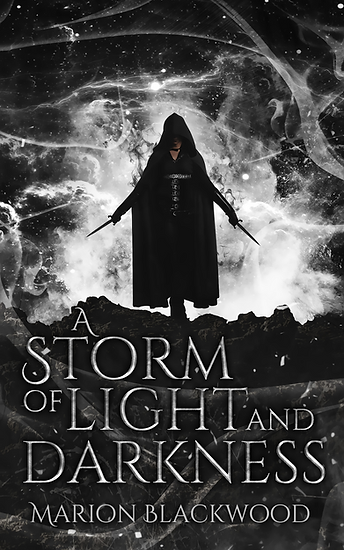 Fantasy novel A Storm of Light and Darkn