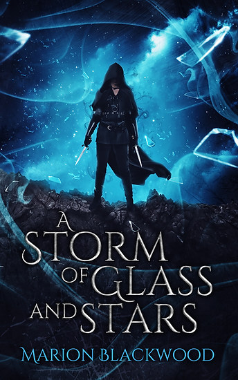 Fantasy novel A Storm of Glass and Stars