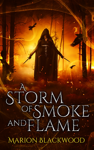 Fantasy novel A Storm of Smoke and Flame