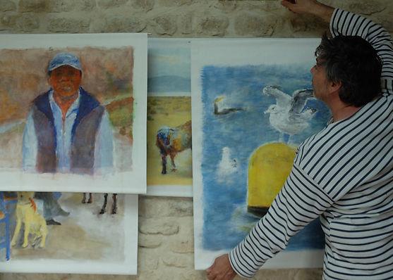Artiste peintre dessinateur en Normandie