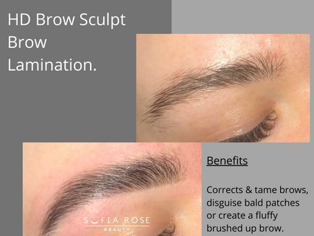New Treatment Alert, Brow Lamination.