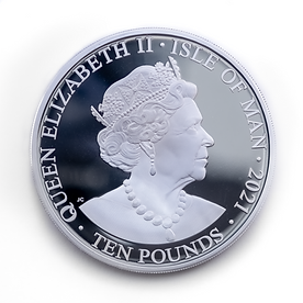 Tower Mint Peregrine Falcon Ten Pound Coin Obverse