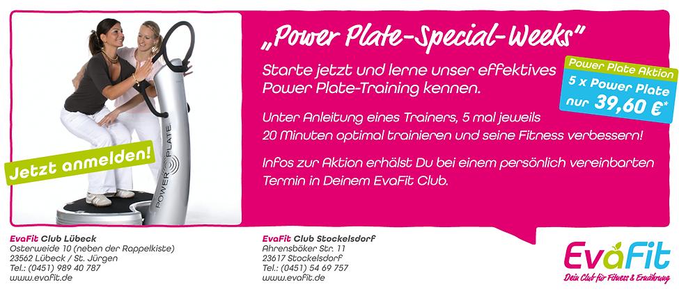 Power Plate · EvaFit - Dein Club für Fitness & Ernährung