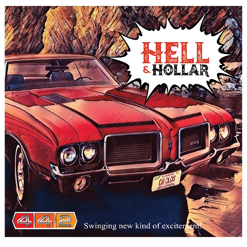 Hell & Hollar 442 EP CD