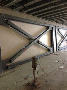 Structural cross bracing