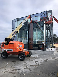 MBE DBE certified curtain wall erectors