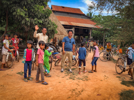 Our visit to the free English school in Svay Chek commune