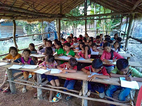 The Aniki Angkor School has a second school in Beng Mealea area of the Siem Reap Province!