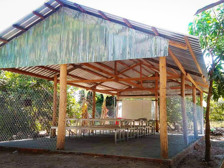The Beng Mealea School is completed!