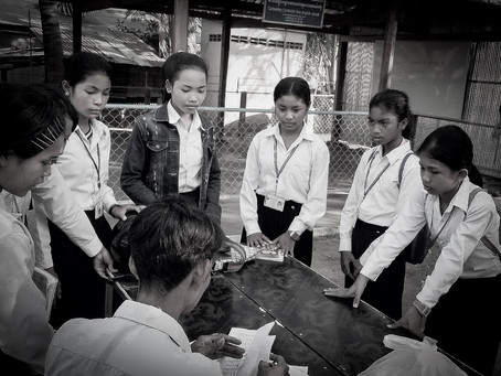 Twice as many students enroll in Cultivating Cambodia's free school in the Prey Khpous Commune!