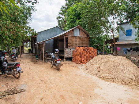 The Svay Chek school gets two toilets!