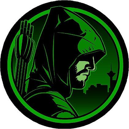 Green Arrow Head