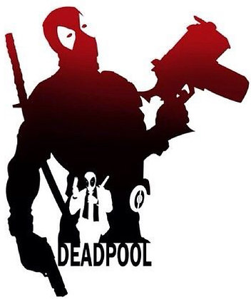 Deadpool Silhouette