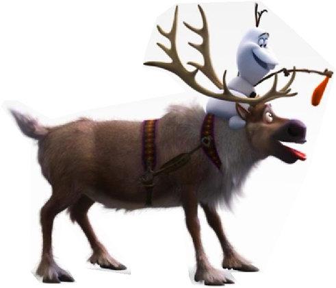 Olaf Leading Sven