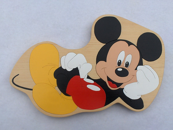 Mickey Mouse Laying