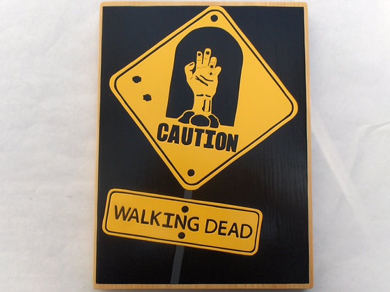Caution Walking Dead