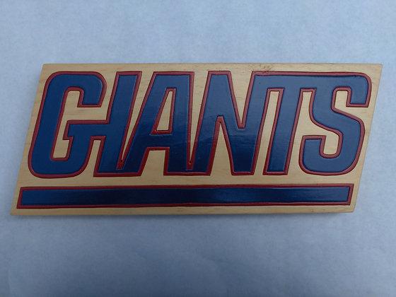 New York Giants 1976-1999