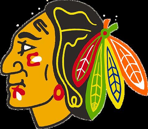 Chicago Black Hawks 1986-1988