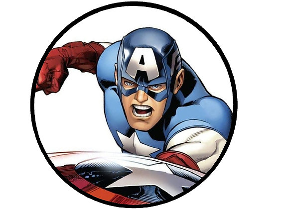 Captain America Head