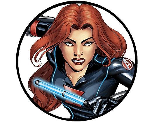 Black Widow Head