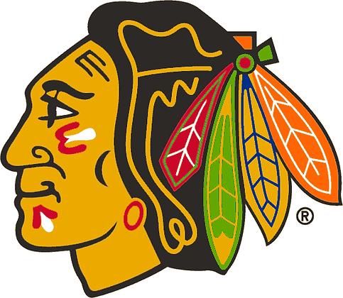 Chicago Black Hawks 1989-1995