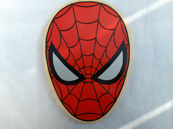 Spiderman Head Only