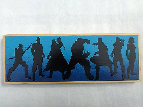 Avengers Silhouette