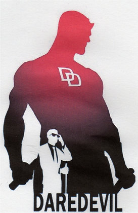 Dare Devil Silhouette