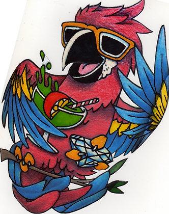 Jimmy Buffet Parrot