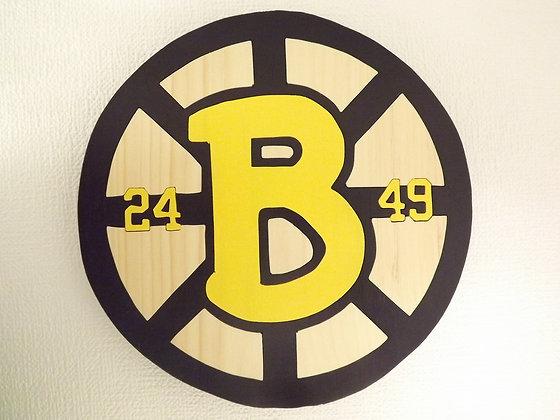 Boston Bruins 25th Anniversary Logo