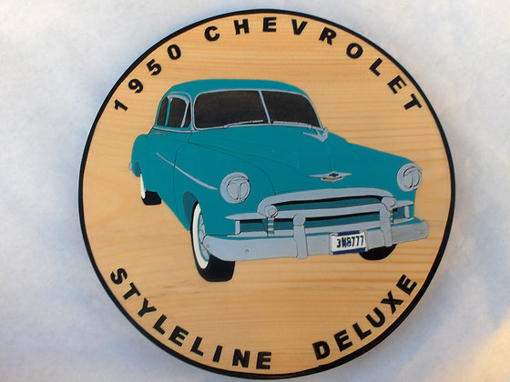 1950 Chev Styleline Deluxe