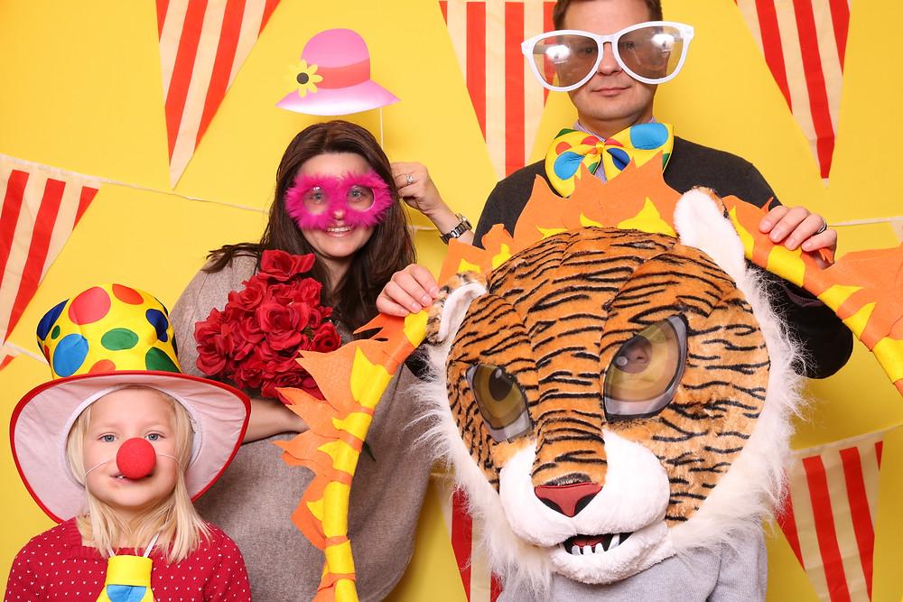 Photo Booth photo, family fun, family photo booth, big sunglasses photo booth, sunglass props, fun props, fun event