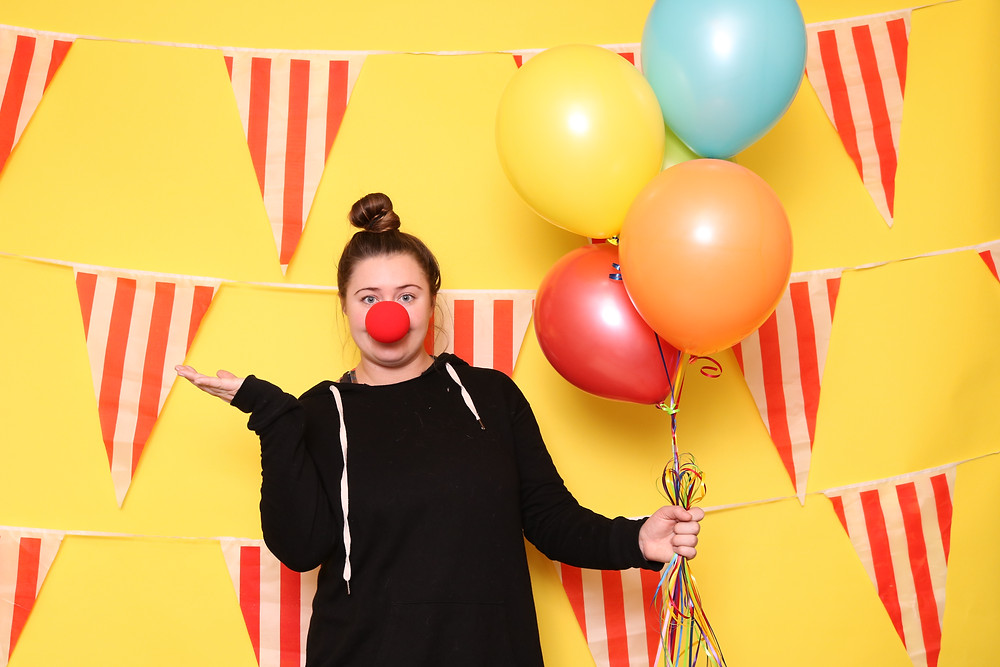 circus photo booth, denver photo booth, event rental, event theme, Denver events,  luxury photo booth