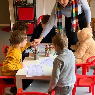 ateliers de groupe enfants