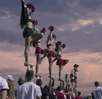"""Lessons from CHEER.  How to be """"On Mat"""" in Your Life."""