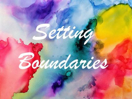 BOUNDARY SETTING AND FORGIVENESS START WITH SELF-LOVE