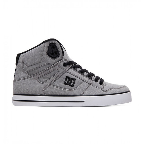 DC PURE HIGH TOP GREY