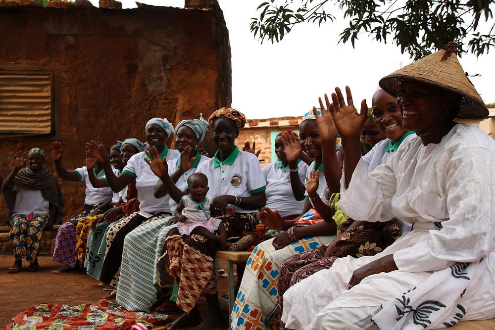 Les Femmes de l'association FAMIRAN