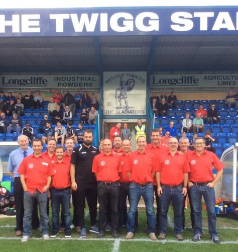 Baarbierians Sponsor Matlock's Football Club