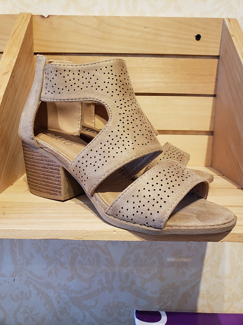 Heeled Summer Sandal