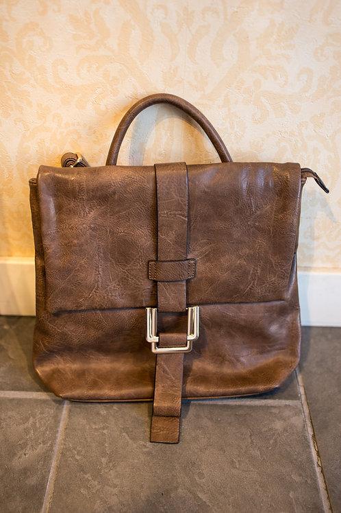 Soft Vegan Leather Backpack