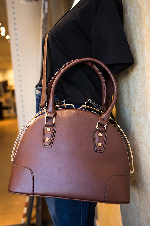 Structured Dome Handbag